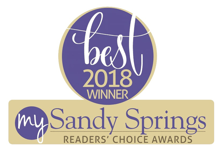 We're honored to announce that we won the Sandy springs Reader's Choice Award.