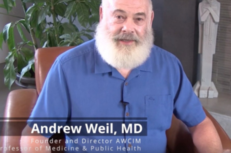 Dr. Andrew Weil explains Integrative Medicine